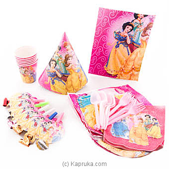 Disney Princess Kids Party Pack Online at Kapruka | Product# partyP00118