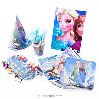 Frozen Kids Party Pack Online at Kapruka | Product# partyP00121