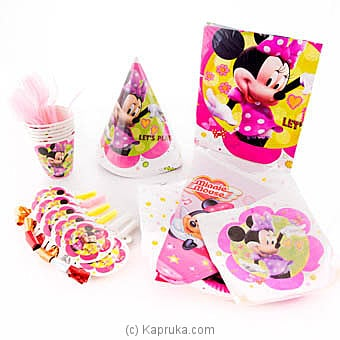 Minnie Mouse Kids Party Pack Online at Kapruka | Product# partyP00123