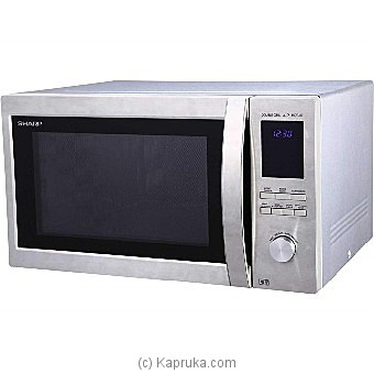 Sharp Microwave Oven With Grill 43L (R78BT(ST)) Online at Kapruka | Product# elec00A1186