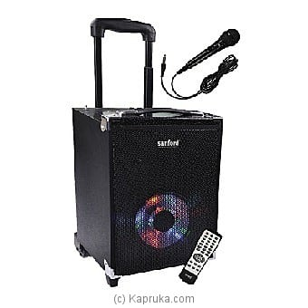 Sanford Rechargeable Trolley Speakers (SF-2261RTS) Online at Kapruka | Product# elec00A1194