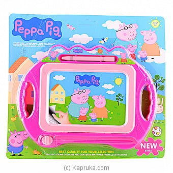 Peppa Pig Magnetic Drawing Board Online at Kapruka | Product# kidstoy0Z721