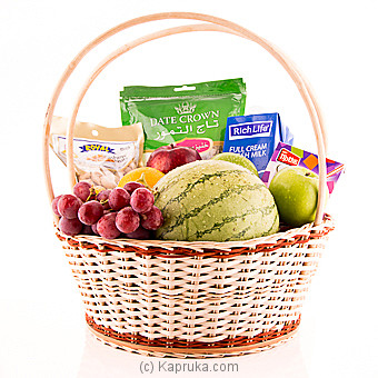 Iftar Hamper With Fruits Online at Kapruka | Product# fruits00132