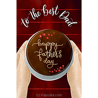 Father`s Day Greeting Card Online at Kapruka   Product# greeting00Z1565