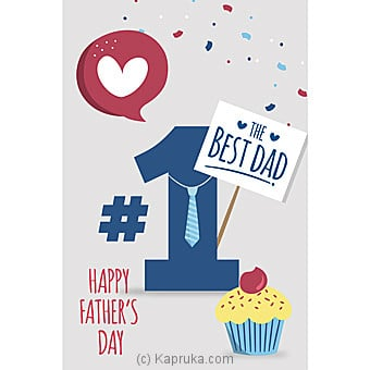 Father`s Day Greeting Card Online at Kapruka | Product# greeting00Z1567