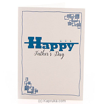 Father`s Day Handmade Greeting Card Online at Kapruka | Product# greeting00Z1569
