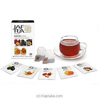 Jaf Tea Pure Fruits Collection Black Tea - Fruit Fiesta Online at Kapruka | Product# grocery00816