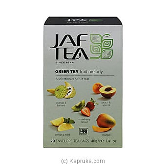 JAF TEA Pure Green Collection Green Tea Fruit Melody Online at Kapruka | Product# grocery00817