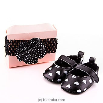 Style With Black  pair of  Shoes With Hair Band at Kapruka Online for specialGifts