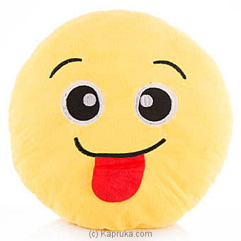 Emoji Face With Stuck Out Tongue Online at Kapruka | Product# softtoy00494