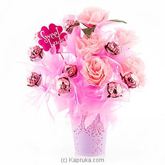 Rose Pink Ferrero By Sweet Buds at Kapruka Online forspecialGifts