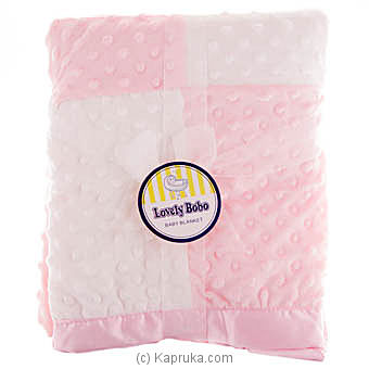 Infant Baby Blanket- Pink Online at Kapruka | Product# babypack00251
