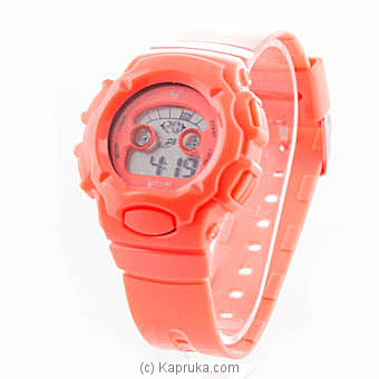 Kids Sports Digital Watch - Orange at Kapruka Online