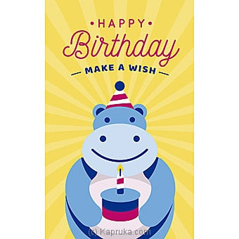 Birthday Greeting Card Online at Kapruka | Product# greeting00Z1586
