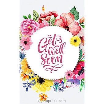 Get Well Soon Card Online at Kapruka | Product# greeting00Z1596