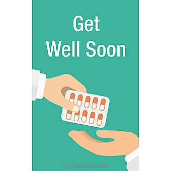 Get Well Soon Card Online at Kapruka | Product# greeting00Z1594