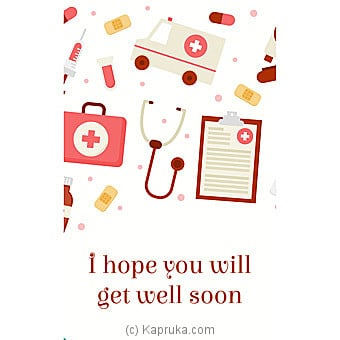 Get Well Soon Card Online at Kapruka | Product# greeting00Z1593