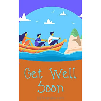 Get Well Soon Card Online at Kapruka   Product# greeting00Z1592