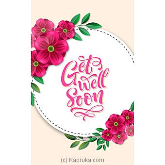 Get Well Soon Card Online at Kapruka | Product# greeting00Z1588
