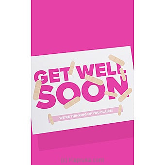 Get Well Soon Card Online at Kapruka | Product# greeting00Z1581