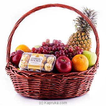 Fantasy Fruit Basket Online at Kapruka | Product# fruits00135