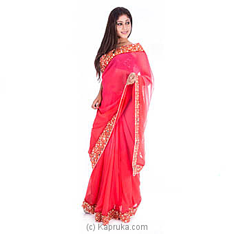 Shiroya Faux Georgette Saree at Kapruka Online for specialGifts