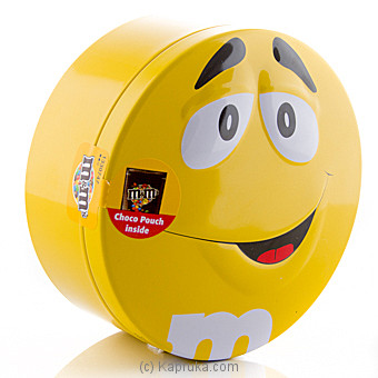 M&M`s Candy Tin 200g(Yellow) at Kapruka Online for specialGifts