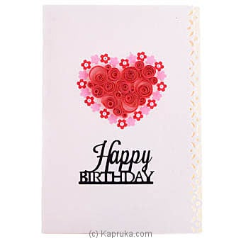 Handmade Birthday Greeting Card Online at Kapruka | Product# greeting00Z1606