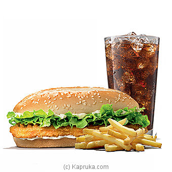 Long Chicken Burger Mealat Kapruka Online forspecialGifts