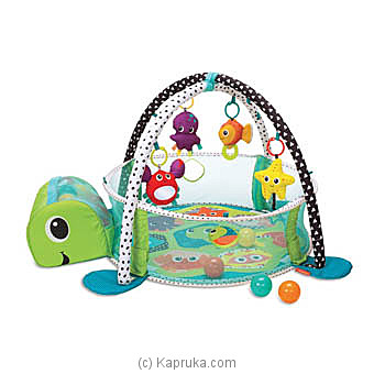 Turtle Baby Activity Gym & Ball Pit at Kapruka Online for specialGifts