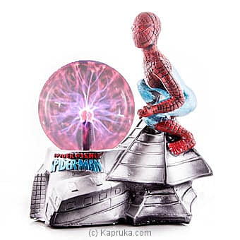 Spider Man In Action Plasma Ball Online at Kapruka | Product# ornaments00531