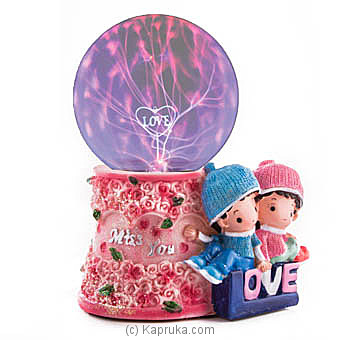 Heartfelt Love Plasma Ball at Kapruka Online for specialGifts