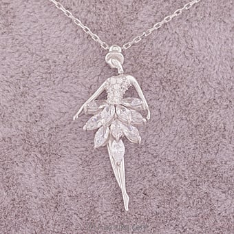 Dancing Girl Necklace Online at Kapruka | Product# jewllery00SK594