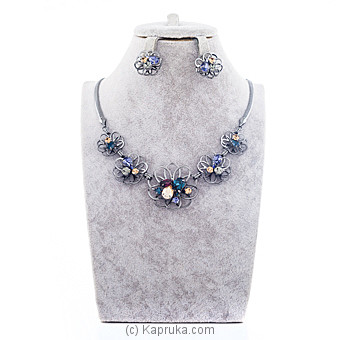 Stylish Necklace With Crystal Stones Online at Kapruka | Product# jewllery00SK604