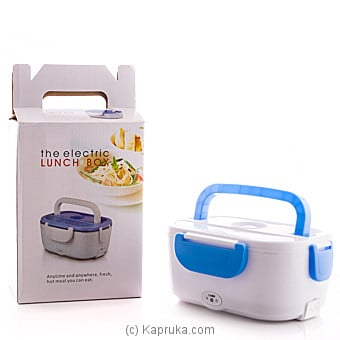 Electric Lunch Box And Food Warmer - Blue Online at Kapruka | Product# elec00A1382_TC2