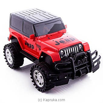 Red Climber Rock Jeep Online at Kapruka | Product# kidstoy0Z772