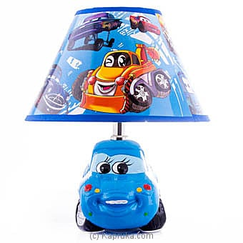 Lightning Mcqueen Lampshade In Blue Online at Kapruka | Product# household00293