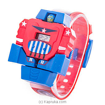 Captain America Deformable Watches Online at Kapruka | Product# childrenP0330
