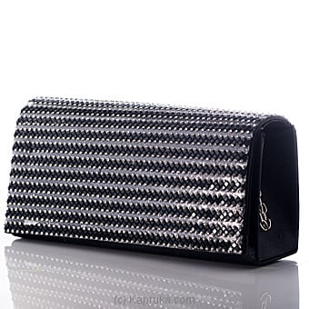 Sparkling Black Evening Clutch Online at Kapruka | Product# fashion00835
