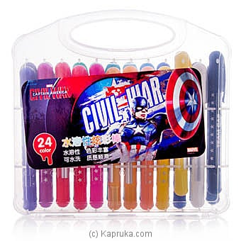 Captain America 24 Color Pens at Kapruka Online for specialGifts