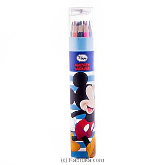 Mickey 12 Color Pencils at Kapruka Online for specialGifts