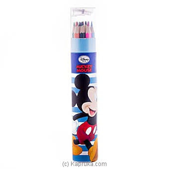 Mickey 12 Color Pencils Online at Kapruka | Product# childrenP0353