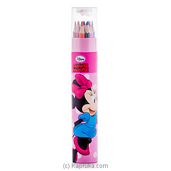 Minnie Mouse 12 Color Pencils at Kapruka Online for specialGifts