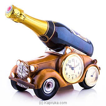 Donelli Sparkling Non-alcoholic Wine With Vintage Car Wine Holder at Kapruka Online for specialGifts