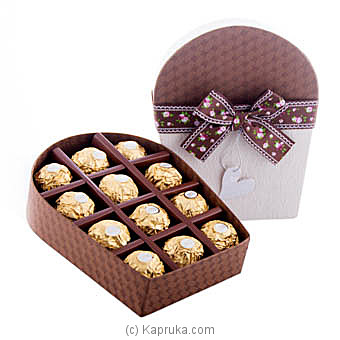 Sweet Array 12 Piece Ferrero Chocolate Gift Box at Kapruka Online for specialGifts