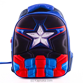 Captain America kids Bag Online at Kapruka | Product# childrenP0373