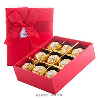 Remembarance Of You 9 Piece Ferrero Chocolate Gift Box at Kapruka Online for specialGifts