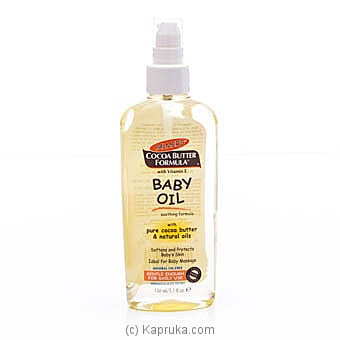 Palmer`s Cocoa Butter Formula Baby Oil- 150ml Online at Kapruka | Product# babypack00294