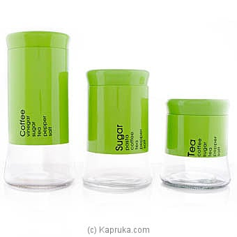 3 Piece Kitchen Canister Set at Kapruka Online for specialGifts