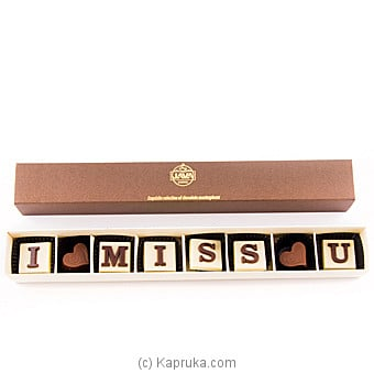 Java `I Miss You` 8 Piece Chocolate Box Online at Kapruka | Product# chocolates00695